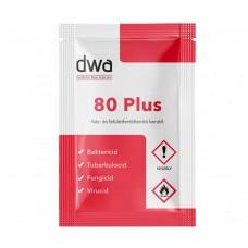 DWA 80 PLUS kéz és felület fertőtlenítő kendő- 500 db