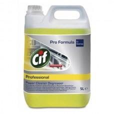 CIF zsíroldó koncentrátum, extra erős 5L CIF Prof.Power Cleaner Degreaser